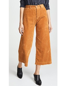 Ryan Corduroy High Waisted Pants by Emerson Thorpe