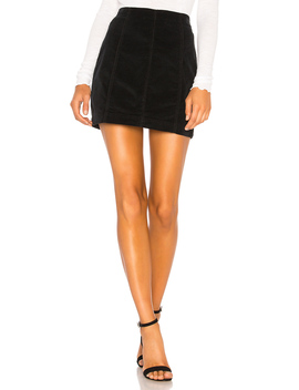 modern-femme-cord-mini-skirt by free-people