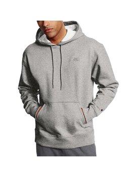 Champion Men's Powerblend® Fleece Pullover Hoodie   Oxford Grey   L by Champion