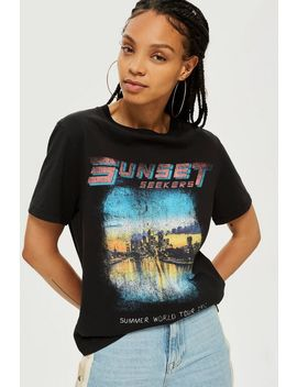 Sunset Seekers T Shirt by Topshop