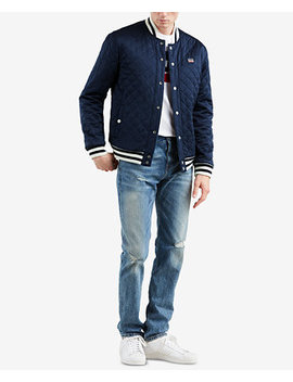 Limited: Old School Men's Reversible Bomber Jacket, Created For Macy's by Levi's