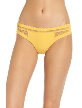 Embroidered Bikini Bottoms by Red Carter