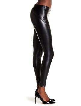 Vegan Leather Leggings by David Lerner