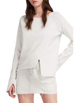 Pelo Asymmetrical Sweatshirt by Allsaints