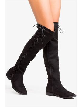 Not So Basic Over The Knee Boot by A'gaci
