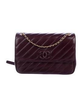 2016 Cross The Line Flap Bag by Chanel