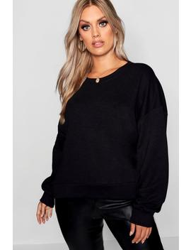 Plus Oversized Slouchy Sweat by Boohoo