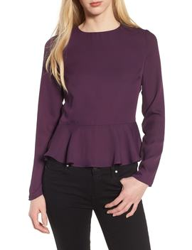 Peplum Top by Line & Dot