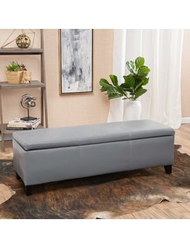Andover Mills Denali Storage Ottoman & Reviews by Andover Mills
