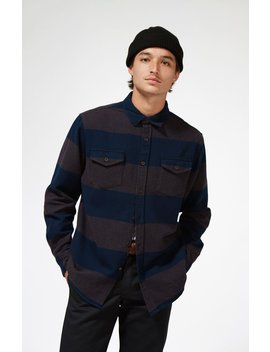 Katin Smith Stripe Flannel Shirt Jacket by Pacsun