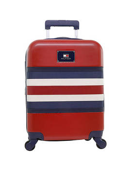 """Hamilton 21"""" Expandable Hardside Carry On Spinner Luggage by Tommy Hilfiger Luggage"""