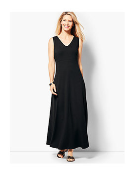 Casual Jersey Maxi Dress by Talbots