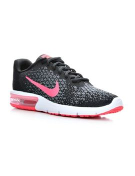 Women's Nike Air Max Sequent 2 Running Shoes Black/Gry/Pink<Wbr>&Nbsp;Ssc20 47 by Nike