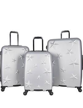 Star Journey 3 Piece Lightweight Hardside Spinner Luggage Set by Aimee Kestenberg