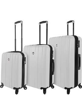 Mantouvani 3 Piece Expandable Hardside Spinner Luggage Set by Mia Toro Italy