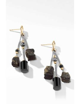 Bijoux Bead Link Drop Earrings In 18 K Gold by David Yurman
