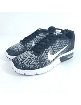 Nike Air Max Sequent 2 Womens Running Shoe Multi Size Black Gray Knit 852465 002 by Nike