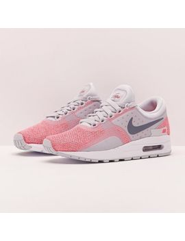 Nike Air Max Zero Se Gs Pink/White/Gre<Wbr>Y Sz. 6 Y / Womens Sz. 7.5 Ds New In Box!!! by Nike