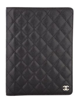 Chanel Quilted Caviar Agenda Cover by Chanel