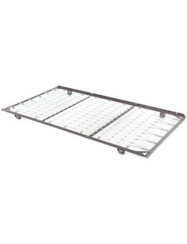 Fashion Bed Group No Pop Rollout Trundle Bed Frame, Twin by Leggett & Platt