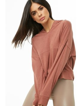 Active Terrycloth Hoodie by Forever 21