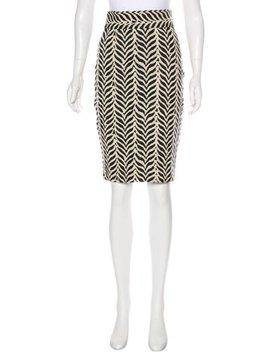 Diane Von Furstenberg Knee Length Pencil Skirt W/ Tags by Diane Von Furstenberg