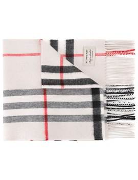 Burberry The Classic Check Cashmere Scarfhome Women Burberry Accessories Scarves by Burberry