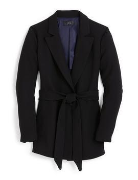 365-crepe-wrap-blazer by jcrew