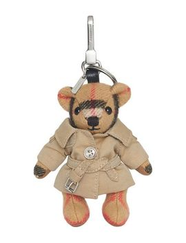 Burberry Thomas Bear Charm Keyringhome Women Burberry Bags Bag Accessories by Burberry