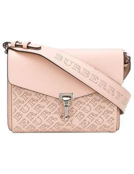Burberry Small Perforated Logo Leather Crossbody Baghome Women Burberry Bags Messenger & Crossbody Bags by Burberry