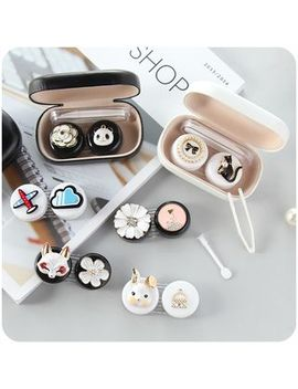 Chimi Chimi   Cartoon Contact Lens Case by Chimi Chimi