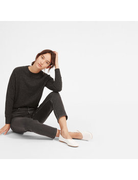 The Cashmere Shrunken Sweatshirt by Everlane