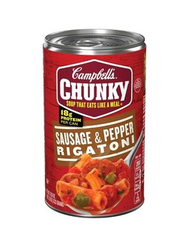 Campbell's® Chunky™ Sausage & Pepper Rigatoni Soup 18.8 Oz by Campbell's
