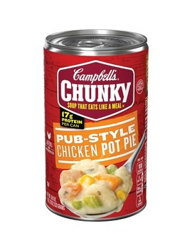 Campbell's® Chunky™ Pub Style Chicken Pot Pie Soup 18.8 Oz by Campbell's