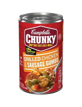 Campbell's® Chunky™ Grilled Chicken & Sausage Gumbo Soup 18.8 Oz by Campbell's