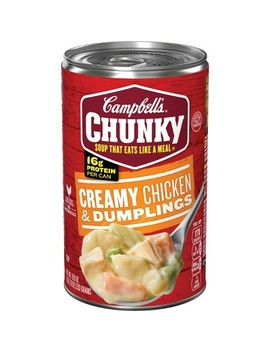 Campbell's® Chunky™ Creamy Chicken & Dumplings Soup 18.8 Oz by Campbell's