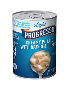 Progresso® Light Creamy Potato With Bacon And Cheese Soup 18.5 Oz by Progresso