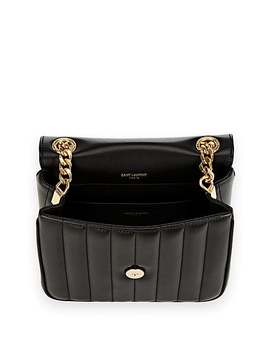 Monogram Vicky Medium Leather Chain Bag by Saint Laurent