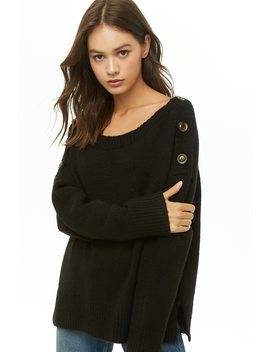 Brushed Dolman Sleeve Sweater by Forever 21