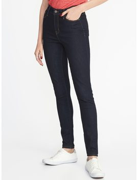 High Rise Secret Slim Pockets Rockstar Super Skinny Jeans For Women by Old Navy