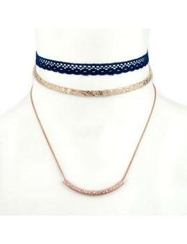 Arizona Womens 3 Pc. Necklace Set by Arizona