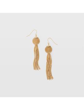 Chain Tassel Earring by Club Monaco