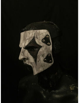 "Jim Root #4 Máscara"" .5 Gris Capítulo ""Slipknot Pro Hecha Halloween by Ebay Seller"