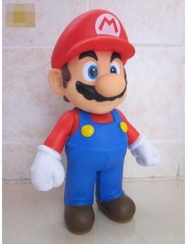 Nintendo Game Super Mario Brothers Mario Rojo Pvc Figuras De Acción De Juguete 12cm De Alto by Ebay Seller