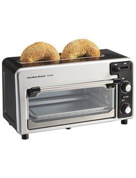 Hamilton Beach (22720) Toaster Oven, 2 Slice Toaster, Toastation by Hamilton Beach