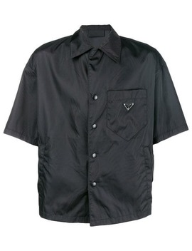 Open Collar Shirt by Prada
