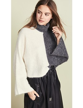 Roll Neck Sweater by Nicholas