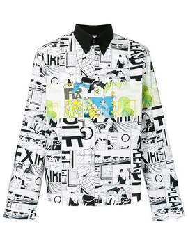 Comics Print Shirt by Prada