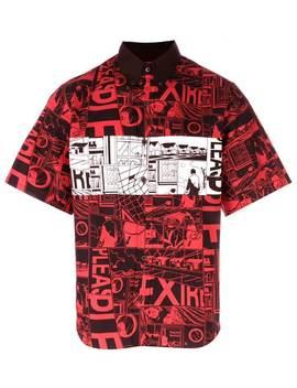 Comic Print Shirt by Prada