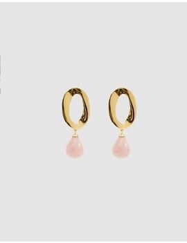 Pelican Quartz Drop Earrings by Lizzie Fortunato